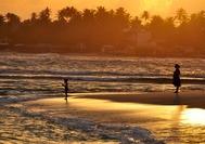 Sri Lanka Urlaub | Sonnenuntergang Strand