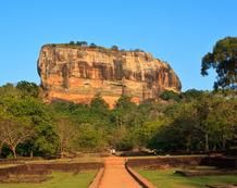Sri Lanka Urlaub | Sigiriya Felsen
