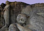 Sri Lanka Urlaub | Statuen Polonnaruwa